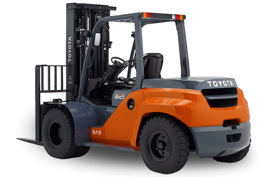 Internal Combustion Forklifts - 8-Series