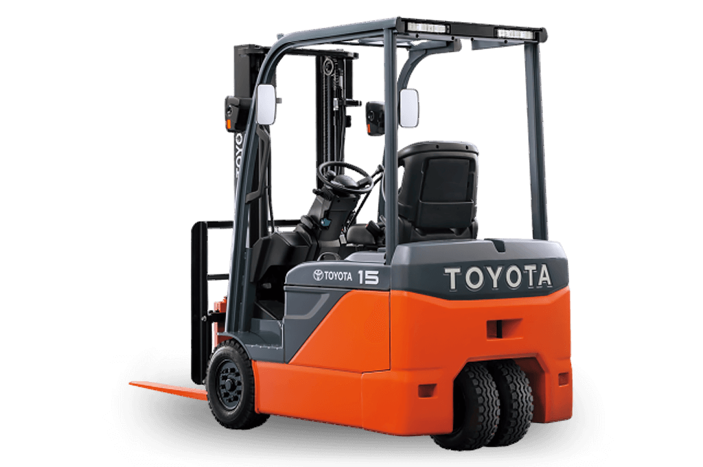 3 Wheel Electric Forklifts - 8FBE-Series