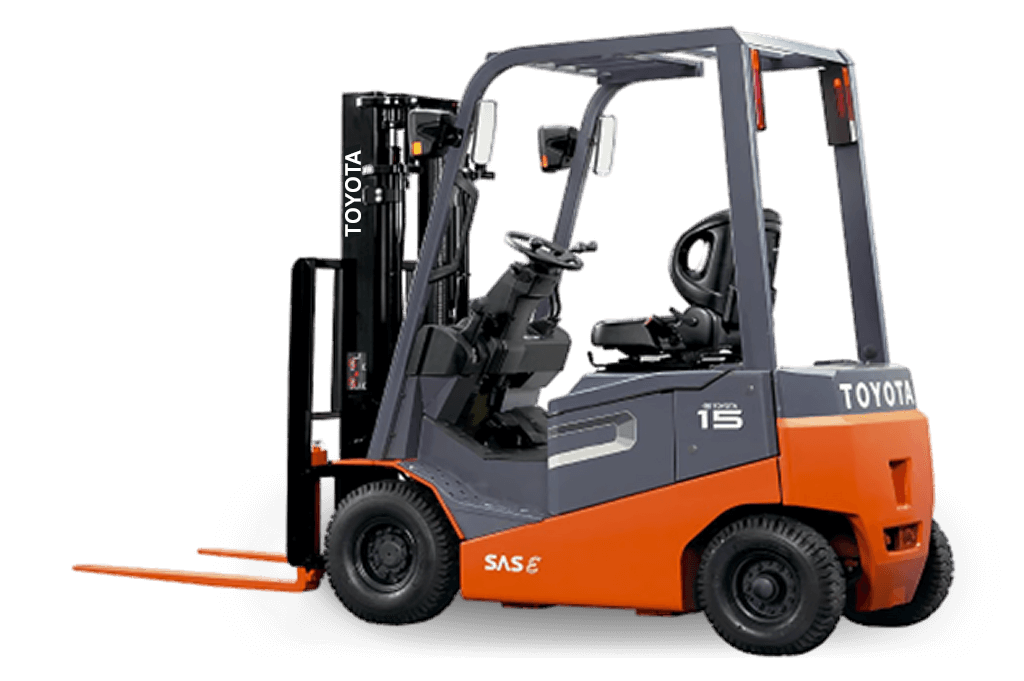 4 Wheel Electric Forklifts - 8FBN-Series