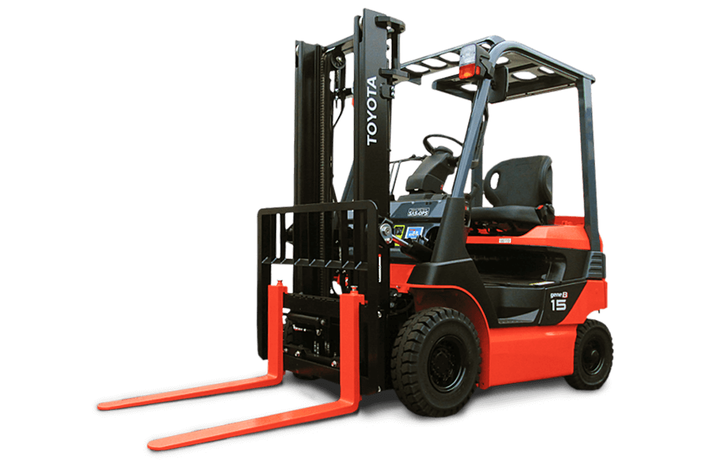 4 Wheel Electric Forklifts - 8FB-Series